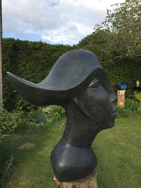 Racer Woman 2019 Bronze Resin 83 X 40 X 70 cm RRP £3950