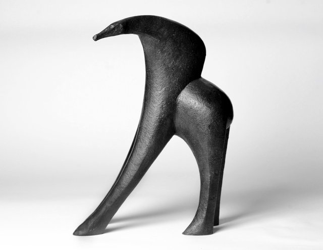 Ancient Creature 1993  53 x 38 x 18cm  Bronze Resin   RP  £1950