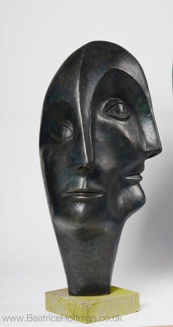 Triple Head 1999      90 x 47 x 45cm    Bronze Resin   RP£3500
