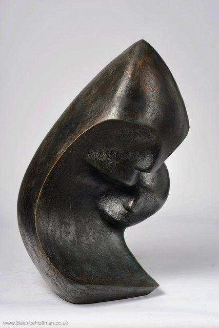 Mother and Child 1  66 x 36 x 36cm Beatrice Hoffman 1.jpg