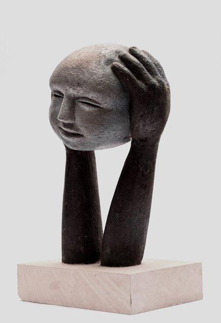 Head on Hands 48 x 20 x 20cm  Beatarice Hoffman 2.jpg