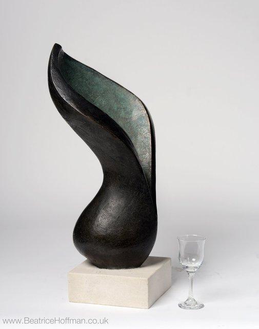 Arum Lilly  1995/ 2-15   65 x 23 x 20cm  Bronze Resin   RP   £1950