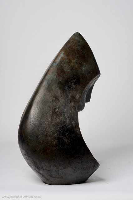 Mother and Child 1   2002  66 x 26 x 36cm  Bronze Resin   RP £2950
