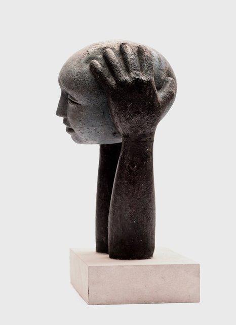 Head on Hands 48 x 20 x 20cm  Beatarice Hoffman 3.jpg