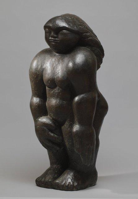Primitive Woman (originally stone) Bronze Resin RP £3200