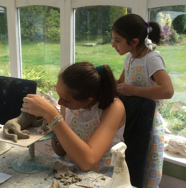 Summer 2016   11/8  Bespoke workshop for one student  and her five children/nieces