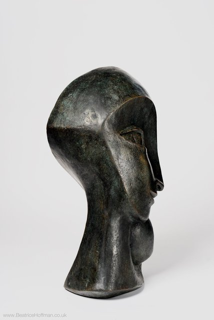 Mother and Child 2,  2003   Bronze Resin   70 x 47 x 40 cm     RP £2950