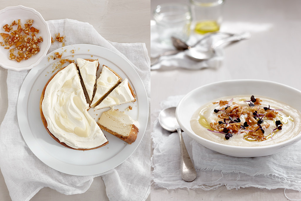 cheese cake & soup