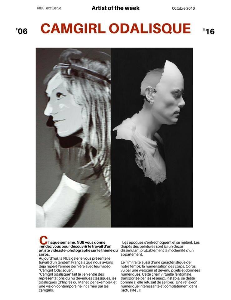 Co-interview avec Hugo Arcier par JM Sanchez, directeur de la Nue galerie à Paris.