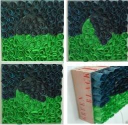 Draaien:Groen-Zwart-Groen - Turning Green