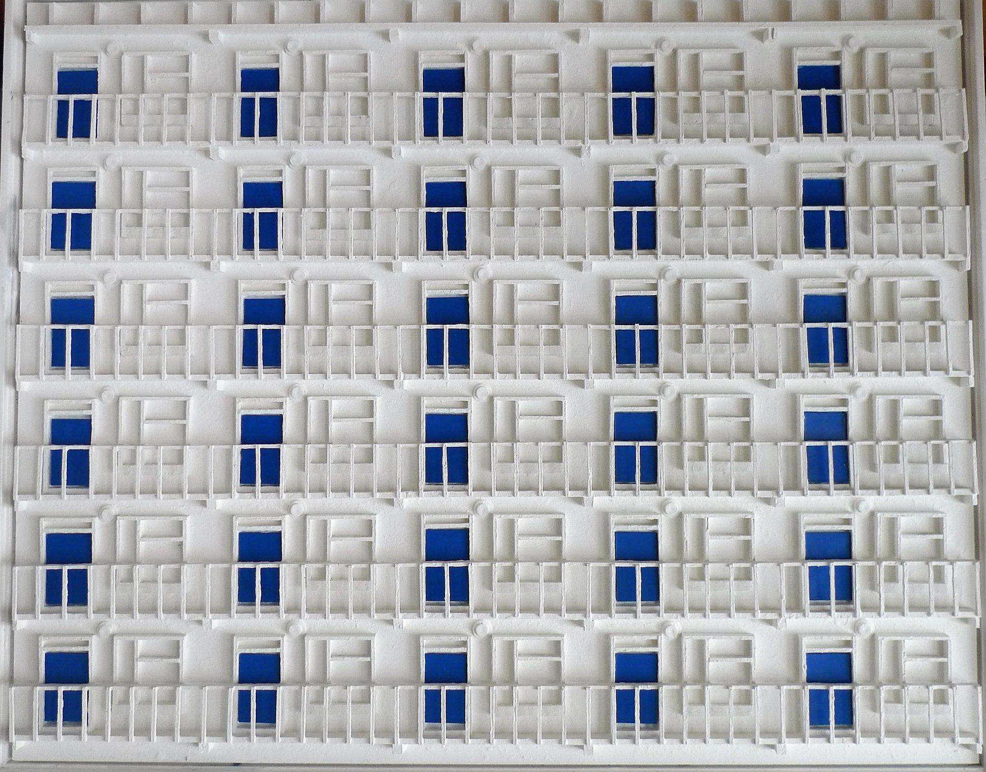 3rd Floor - blue door