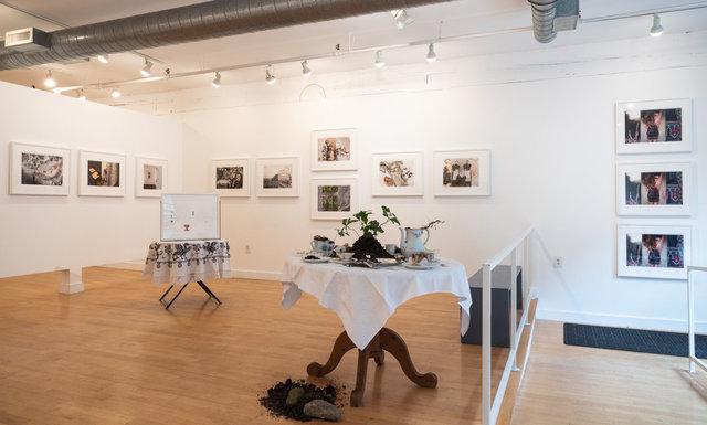 """""""The Fabric of Memory"""", Gallery Kayafas, Boston, 2020"""