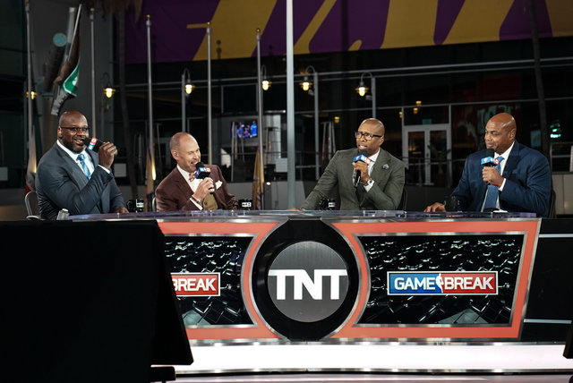 NBA opening night on TNT