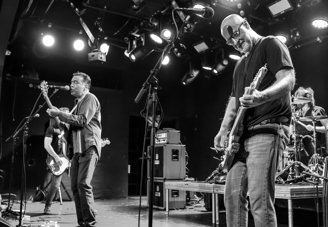 Bob Mould with Fred Armisen in Los Angeles, C.A.
