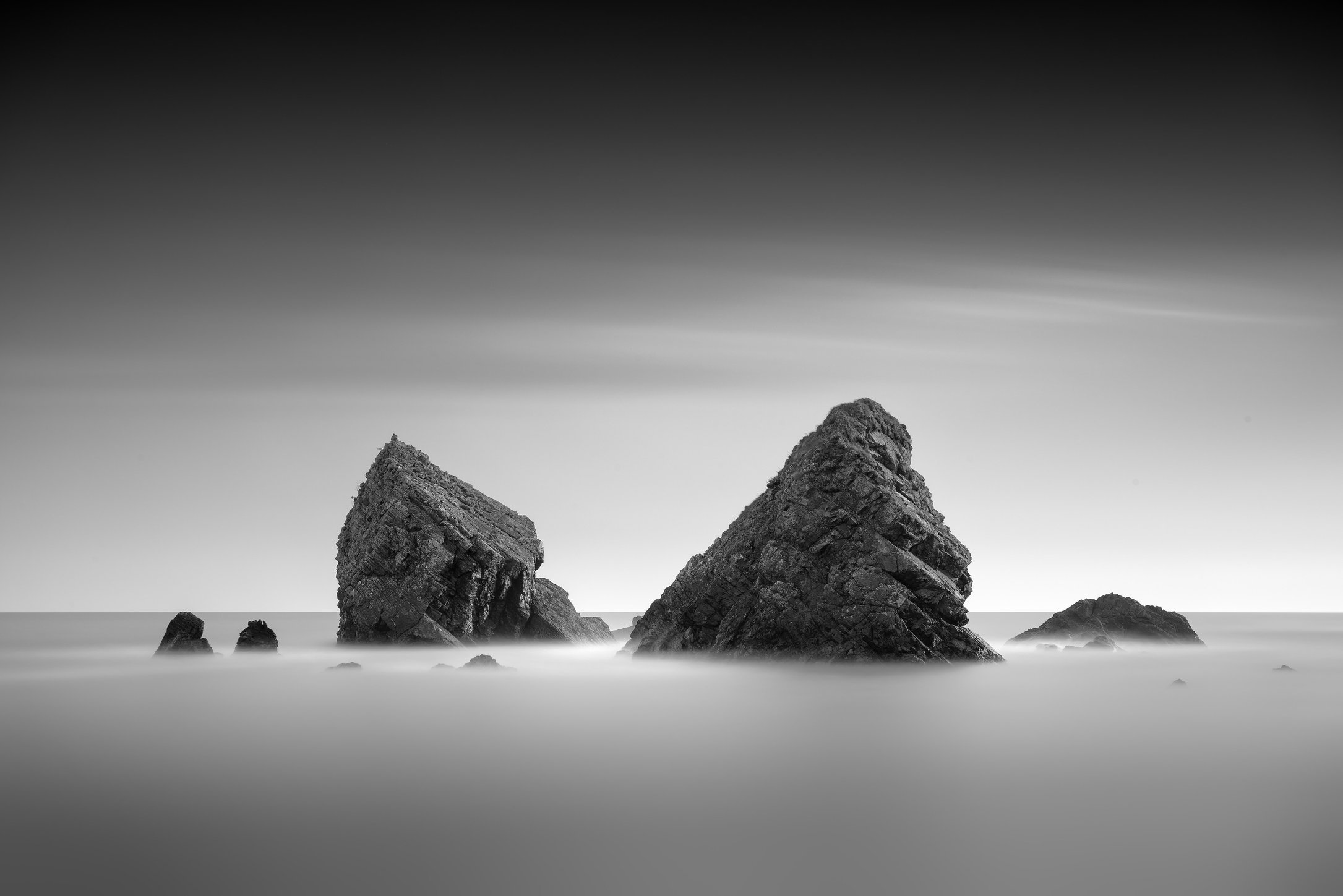 Sea Stacks, Ballydowane, Copper Coast
