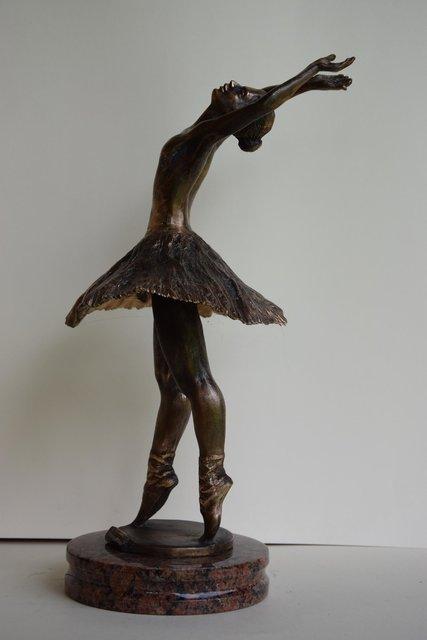 Baletnica 32x15x15 brąz