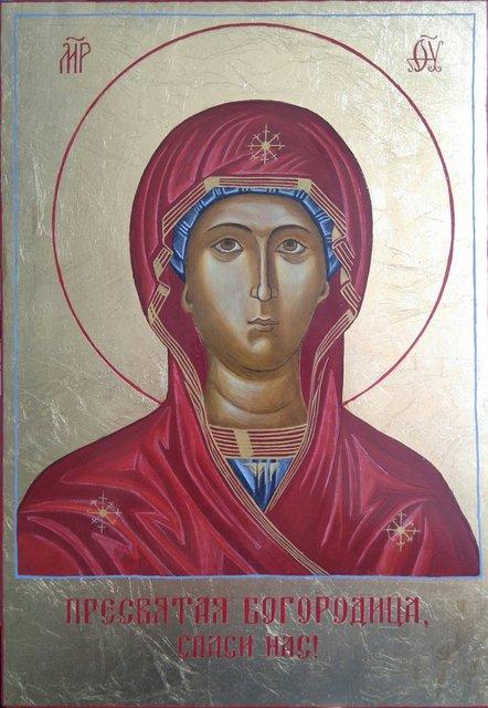 Matka Boża 30x21