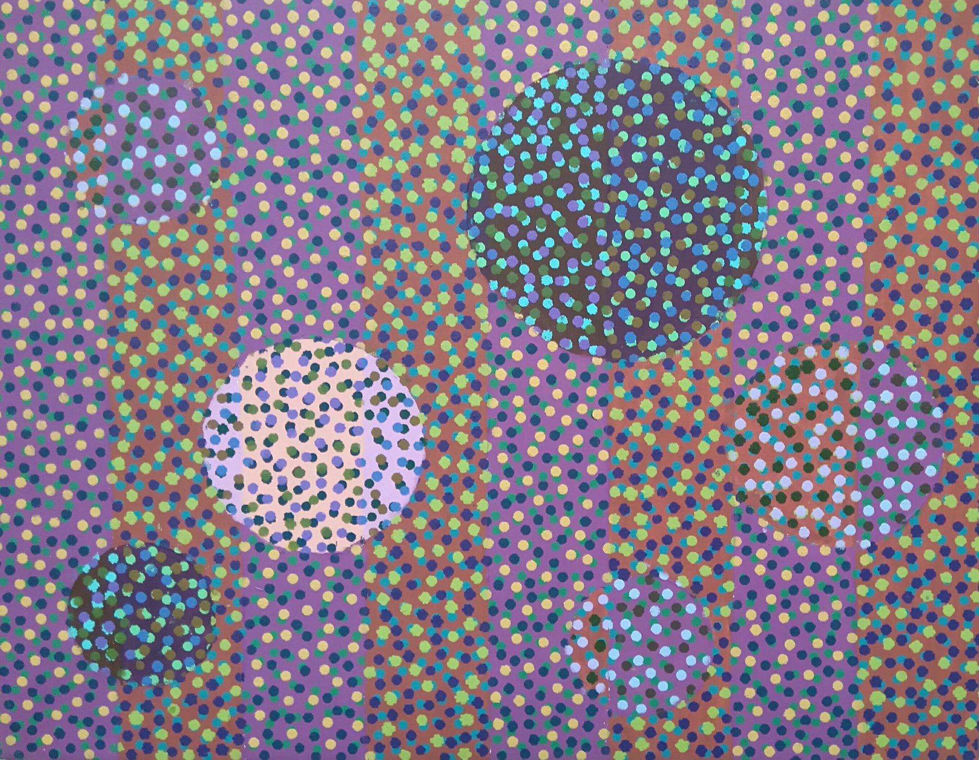 Zanim gwiazdy... 50x65 akryl płótno 2016 (wł. pryw.)