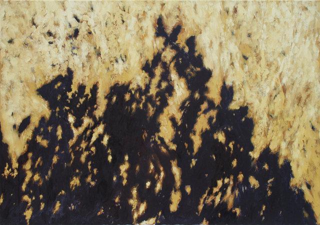 Cienie na ścieżce 70x100 olej płótno 2012