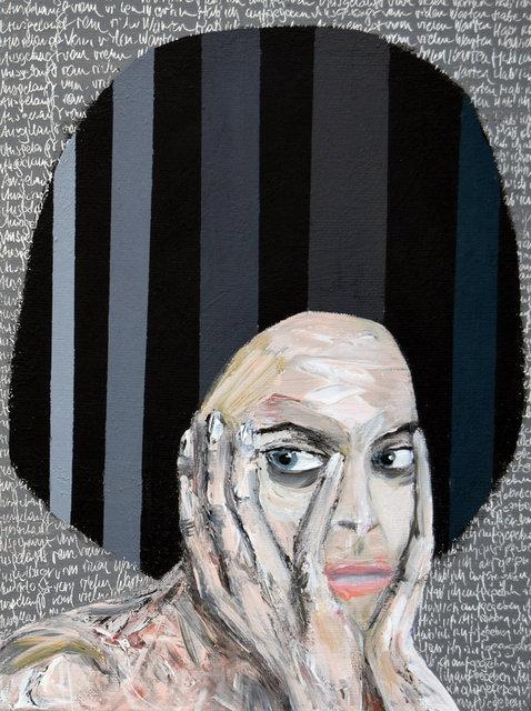 Sybilla 2, 40x30 akryl płótno 2015