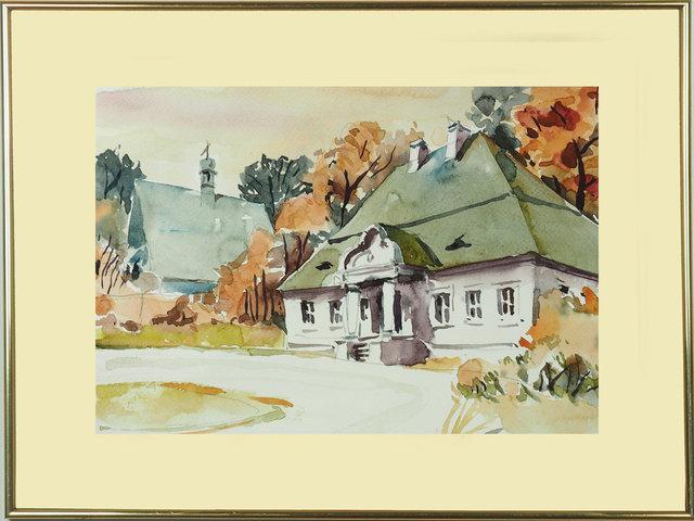 Dwory szlacheckie 19x29 - 07 Szlachecki dwór z kaplicą w tle frame.jpg