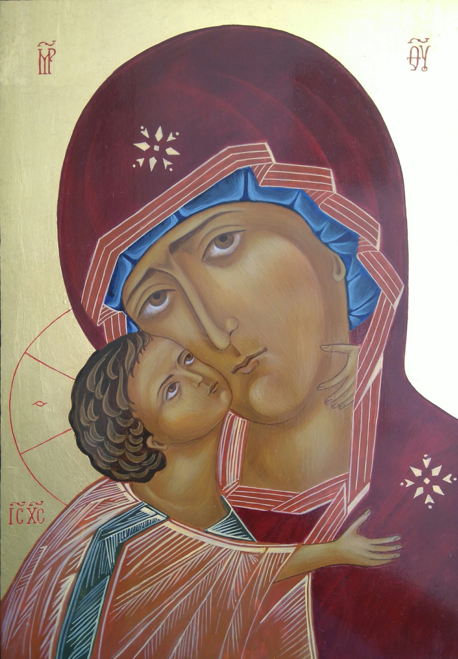 Matka Boża Włodzimierska 30x21