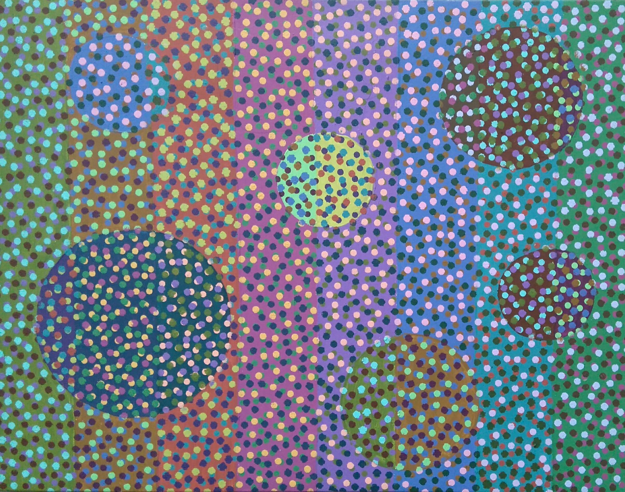 Zanim gwiazdy... 2, 50x65 akryl płótno 2016 (wł. pryw.)