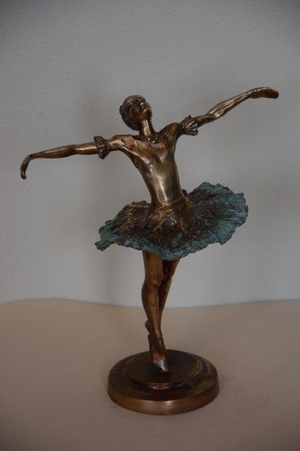 Baletnica 22x10x16 brąz (wł. pryw.)