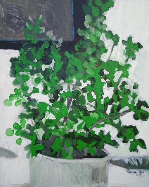 Etiuda nr 6 100x80 akryl płótno 2007