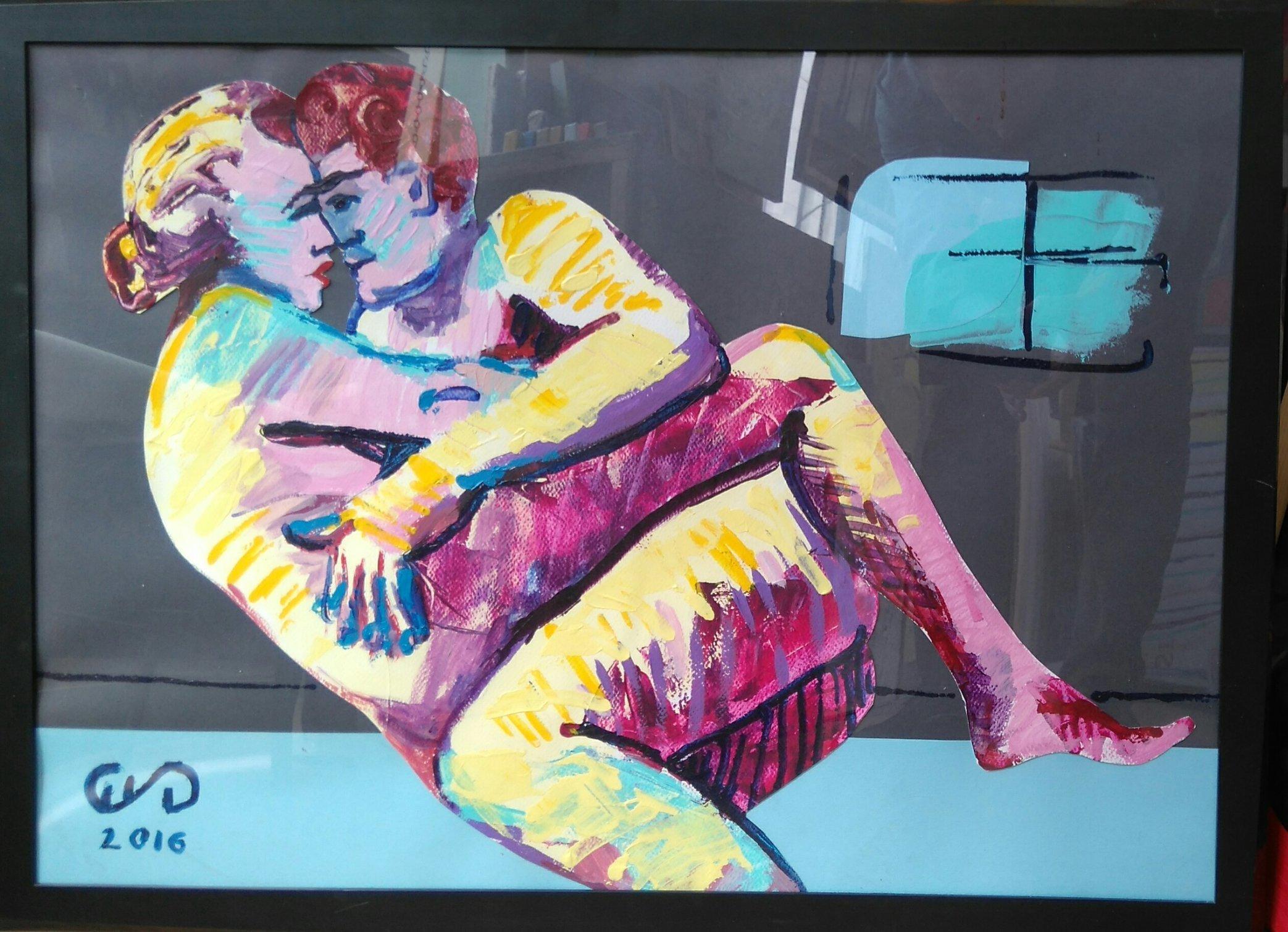 Eroticon IV 50x70 kolaż 2016