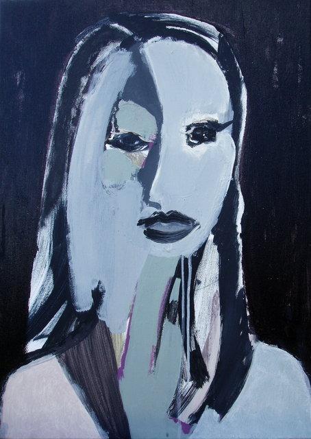 Portret 70x50 akryl płótno