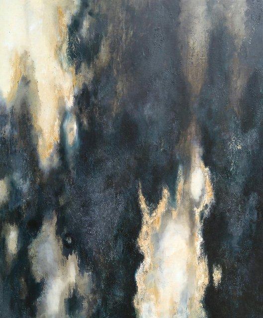 Przebłyski 120x100 olej płótno 2012