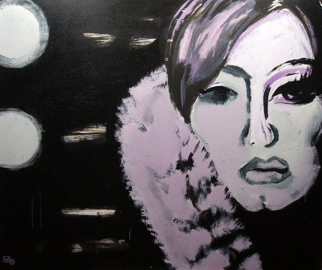 Adele 100x120 akryl płótno