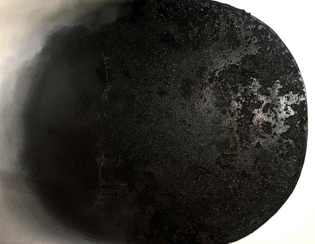 Czerń 114x146 olej płótno