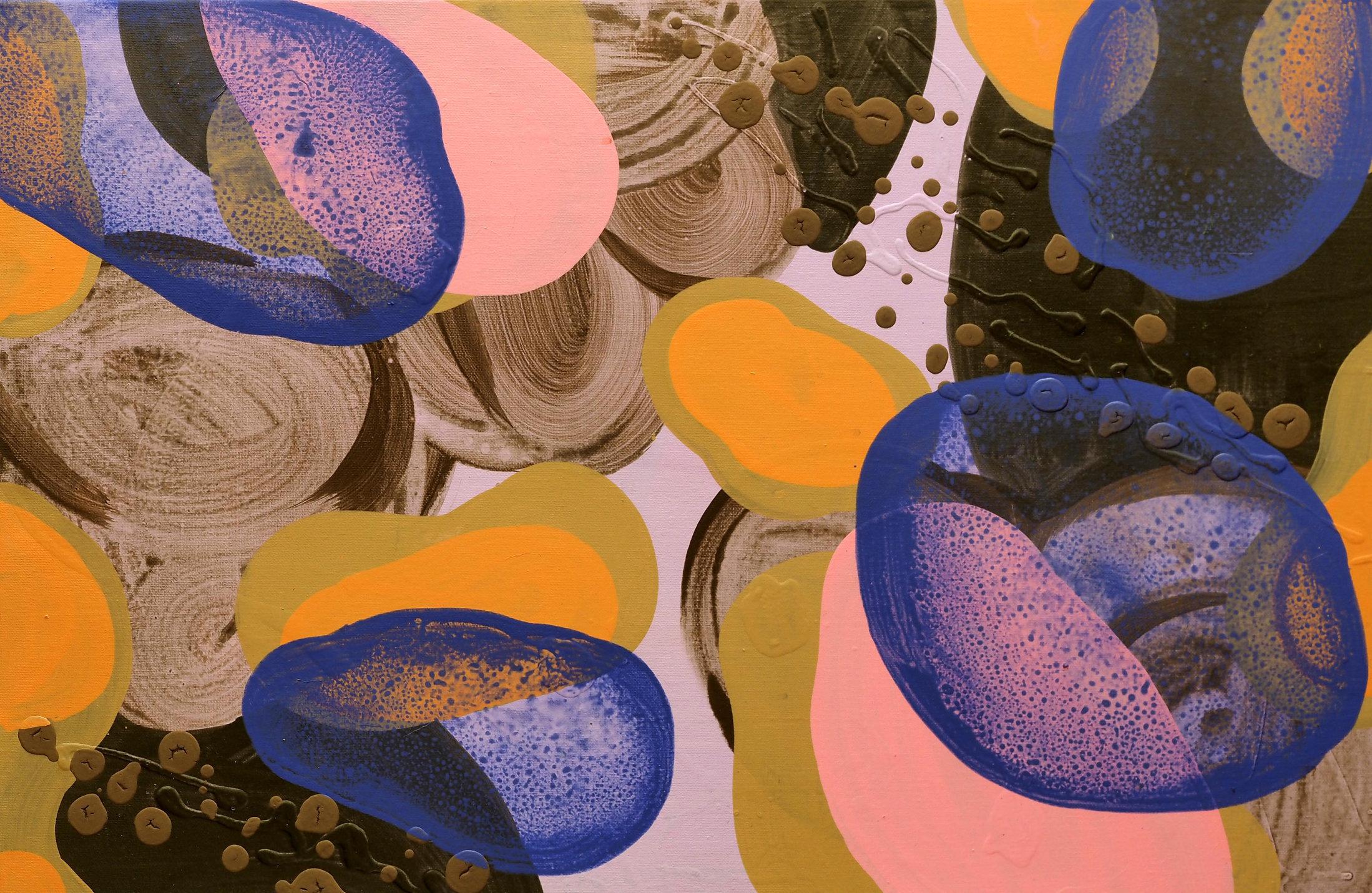 Trnquilidad M 041 75x50 akryl płótno