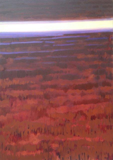 Ścieżka 140x100 olej płótno 2012