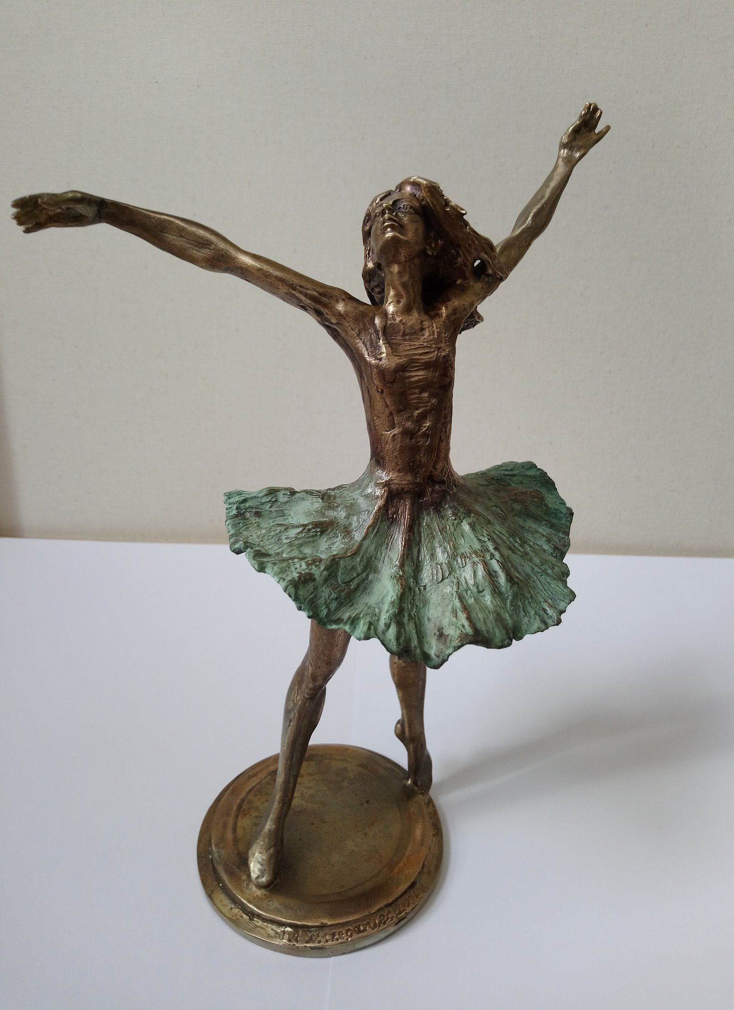 Baletnica 24x15x13 brąz