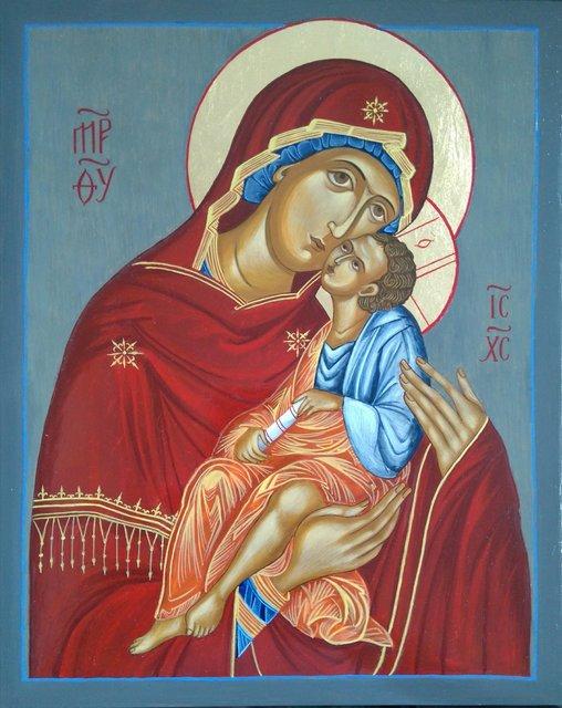 Matka Boża Eleusa (Czuła) 30x24