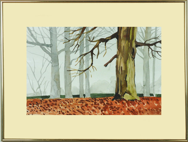 Pejzaż Polski 29x19 - 38 Stare drzewa we mgle.jpg