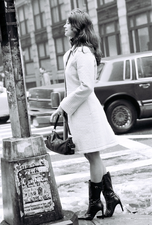 Broadway corner hailig Taxi