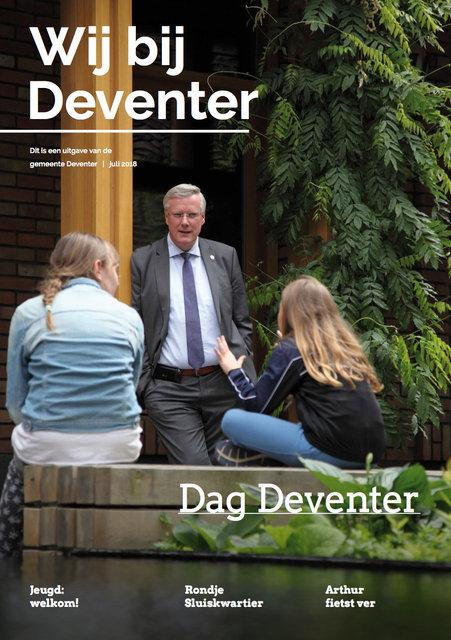 personeelsblad Wij bij Deventer 2018