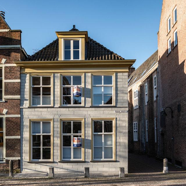 Restauratie /Herontwiieling Rijksmonument Oude Delft 53, Delft