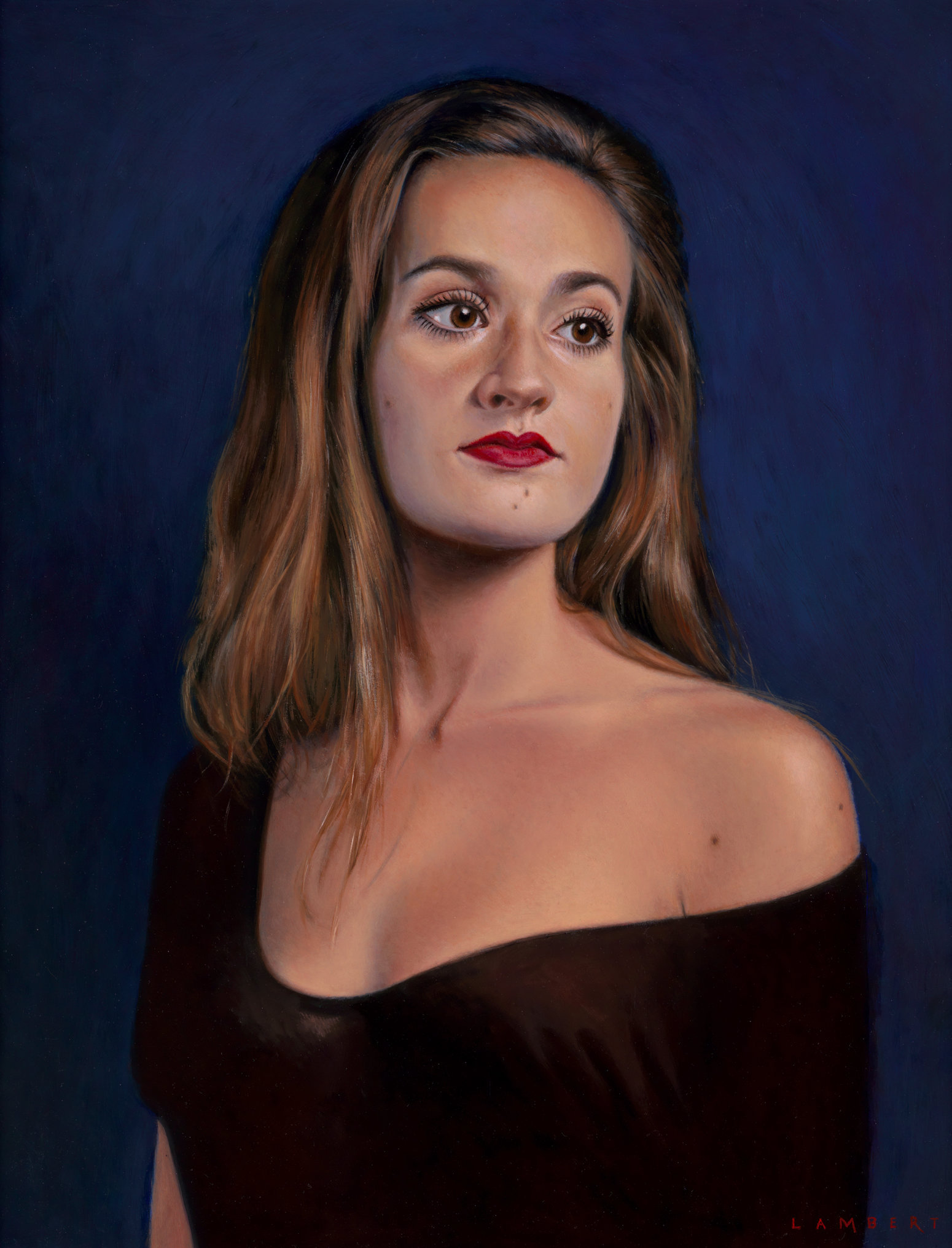 Portret van een jonge vrouw, 2016