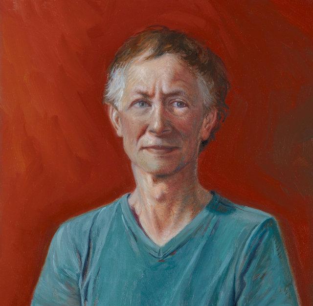 Kleine portretstudie van Rolf, 2018