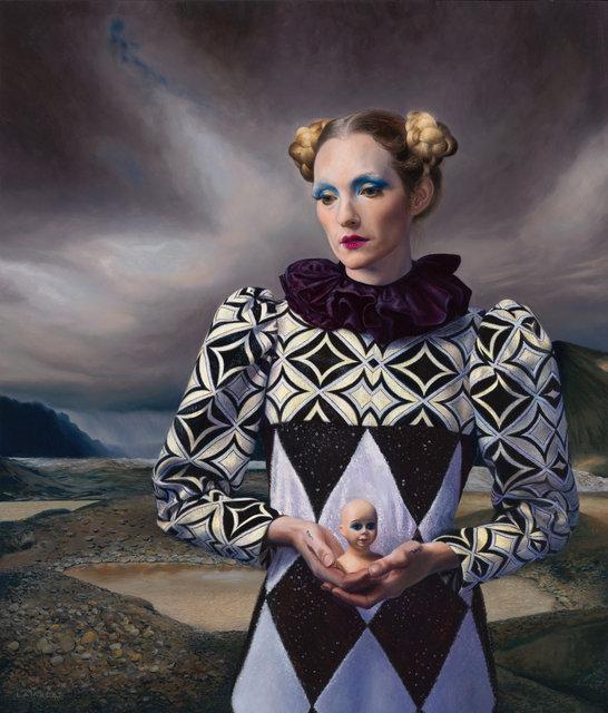 Hommage aan Carel Willink en zijn muze (Mathilde), 2019