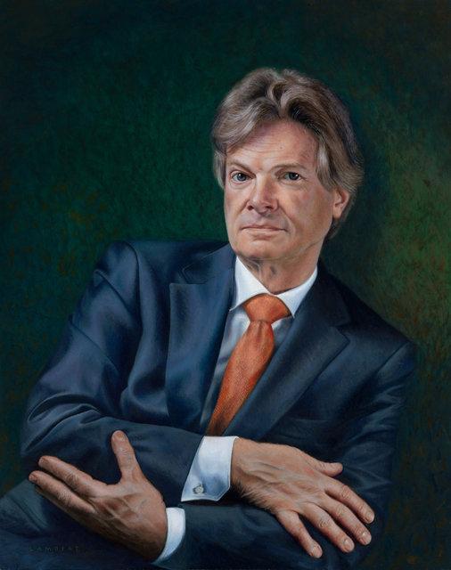 Portret van Jos van der Zwaal, 2016