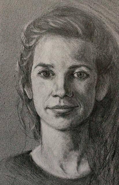 Portretstudie (Clara), 2015