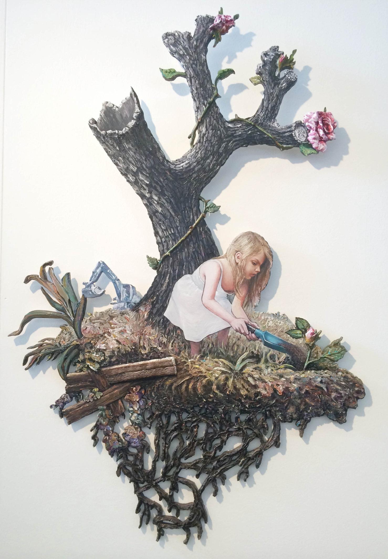 Patrick Bergsma, Aandacht/Attention, 2014