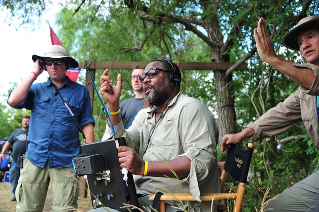 1st AD Richard Fox  Director Lee Daniels   DP Roberto Schaeffer