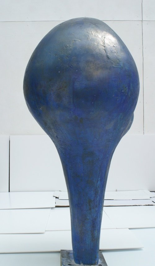 """Big Claw""""  2013   Height 140cm Polystyrene, expandable foam  and plaster"""